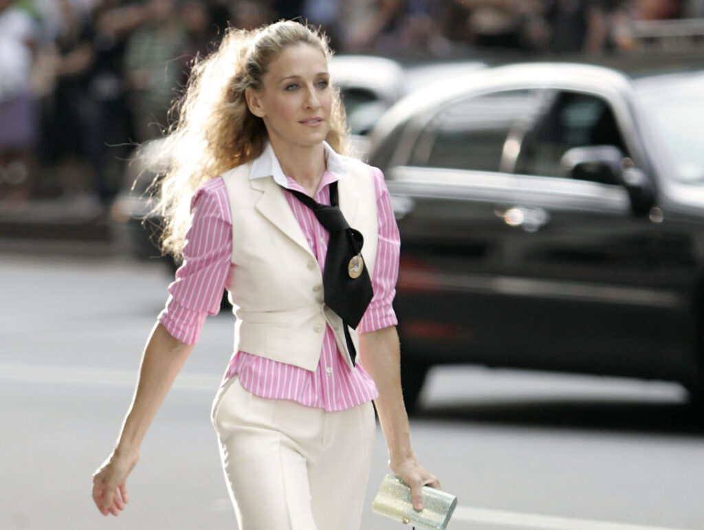 carrie bradshaw editorial