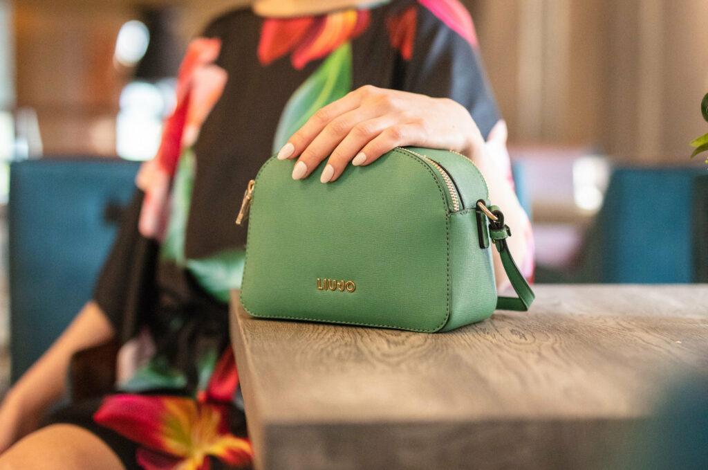 zielona torebka liu jo